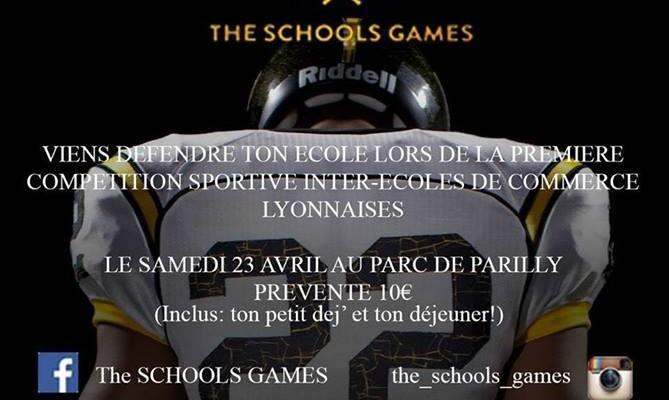 The School's Games : les jeux olympiques de Lyon!
