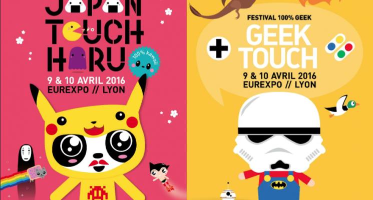 Le bon plan du dimanche : Japan touch haru + Geek touch