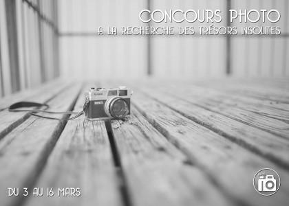 Concours photo – A la recherche des trésors insolites !